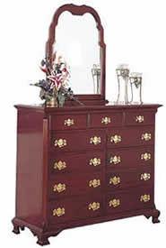 cherry dressing chest